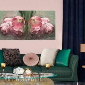 obrazy kwiaty obraz na płótnie 100 x
