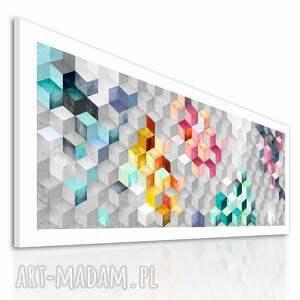 sześciany obraz na płotnie - 150x60cm