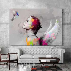 wyjątkowe sztuka obraz na płótnie & bird 100x70