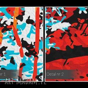 taszyzm obraz na płótnie - abstrakcja