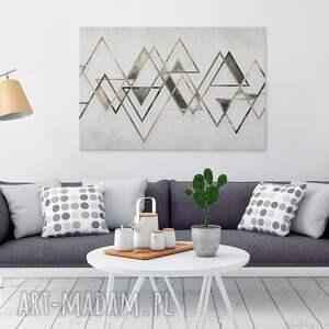 obraz na płótnie - trójkąty