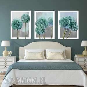 czosnek obrazy zielone obraz na płótnie 50x70 - 3