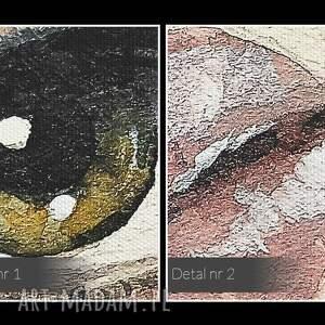 frapujące obrazy twarz obraz na płótnie - portret kobieta