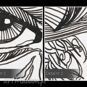 obraz na płótnie - oczy maska - 120x80 cm (21101) twarz