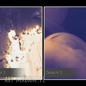pocałunek obraz na płótnie - dym