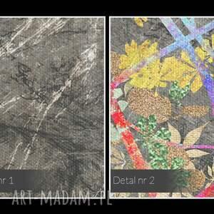 atrakcyjne obrazy liście obraz na płótnie - drzewo