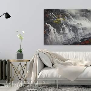 wodospad obraz na płótnie - pejzaż