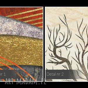 obrazy wzgórze obraz na płótnie - drzewo