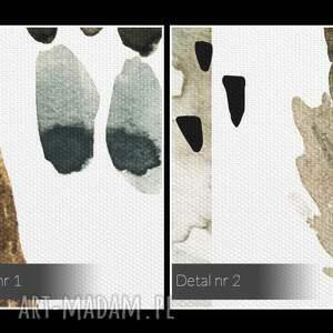 ciekawe wzory obraz na płótnie - pióra boho