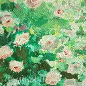 niepowtarzalne obrazy kwiaty maluję ogrody od zawsze. ten temat