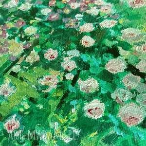 niepowtarzalne malowany ręcznie obraz olejny na płótnie pnące