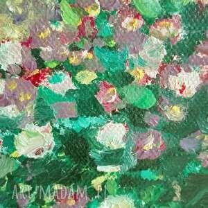 fioletowe olejne obrazy obraz olejny na płótnie pnące