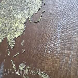 gustowne obrazy mapa obraz ręcznie malowany świata