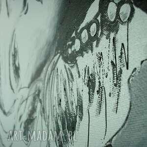 czarne obrazy marylin obraz ręcznie malowany