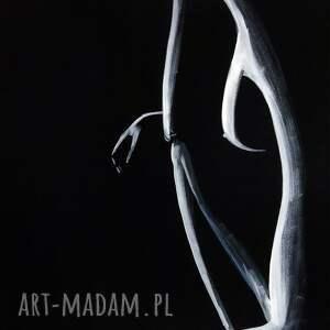 minimalizm obraz ręcznie malowany 50 x 70