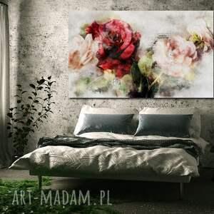 Obraz xxl róża 4 -120x70cm na płótnie - kwiat