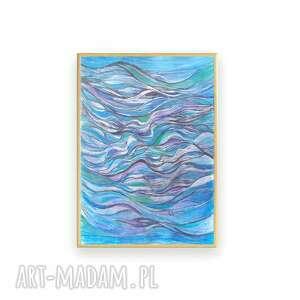 morze oprawiony obraz z morzem