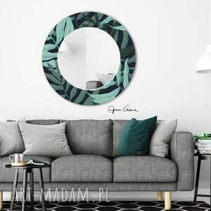 frapujące lustro palm - to stylowe