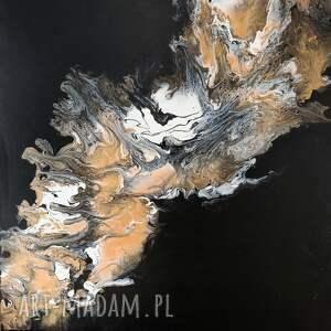 obraz do salonu piasek pustyni - abstrakcja