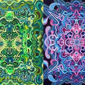 Pi Art kosmos podwójna symetria kosmiczna
