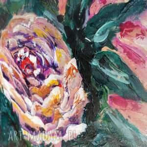obrazy nowoczesny obraz do salonu - bogato zdobiony