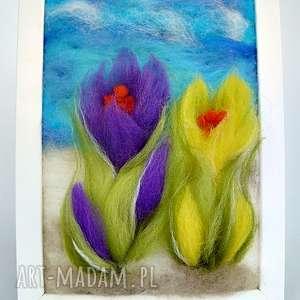 unikatowe obrazy wiosna przedwiośnie. Obraz z kolekcji die