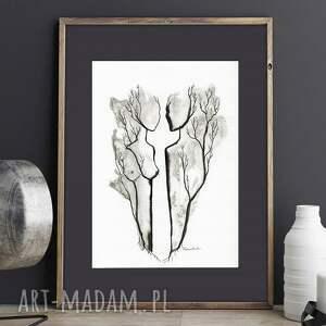 obrazy minimalizm ręcznie malowany, abstrakcja