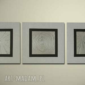 AleObrazy ręcznie malowany nowocesny 19 - 150x50cm obraz duży