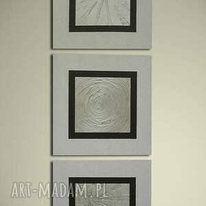 białe płótnie ręcznie malowany nowocesny