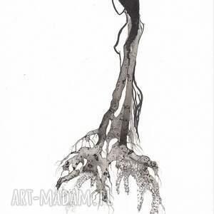 niekonwencjonalne obrazy plakat-kobieta ręcznie wykonany, małe