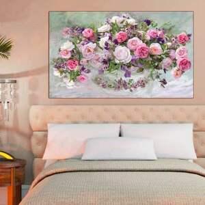 wyjątkowe obrazy glamour róże obraz na płótnie, 100 x