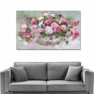 wyjątkowe róże obraz na płótnie, 100 x