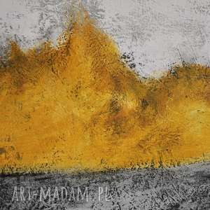 obraz spilled honey, abstrakcja