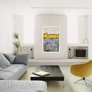 wnętrze spilled honey, abstrakcja