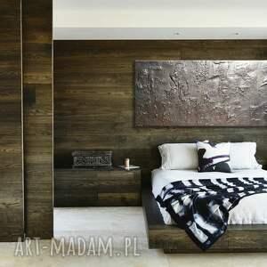 obrazy obrazy-do-salonu srebrna efektowna dekoracja ścienna
