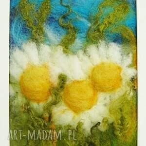 stokrotka obrazy żółte stokrotki obraz z kolekcji die