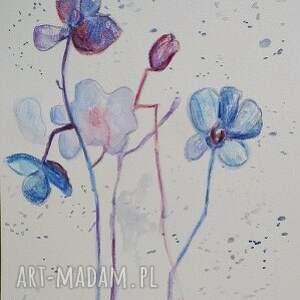 modne kwiaty subtelne -abstrakcja