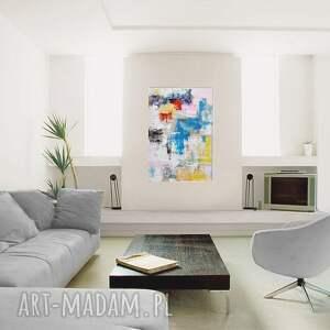 kolorowe obraz tetuan, abstrakcja, nowoczesny