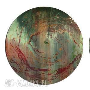 obrazy księżyc tryptyk geograficzny 24