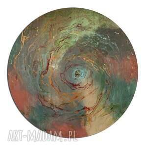 czerwone obrazy kosmos tryptyk geograficzny 24