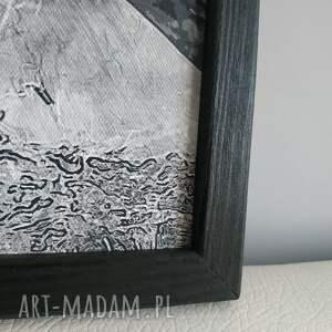 obrazy w ramie liść 3r - 84x40cm