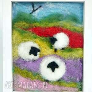 nietuzinkowe obrazy łąka wiosenna łąka. Obraz z kolekcji die