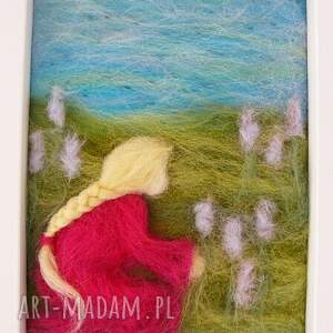 gustowne obrazy obraz wiosenna łąka