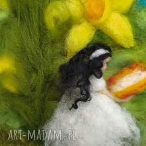 narcyz obrazy żółte zaczytana wśród narcyzów. Wiosenny