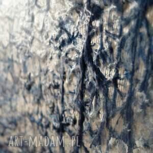 abstrakcja zamarznięty wodospad