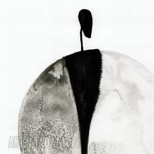 urokliwe abstrakcja obrazy zestaw 3 grafik 30x40 cm wykonanych