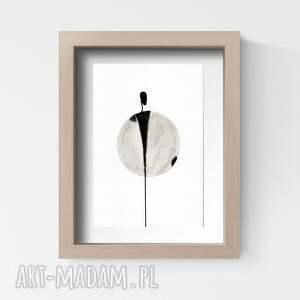 białe obrazy obrazy-ręcznie-malowane zestaw 2 obrazków a4 malowanych