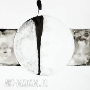 intrygujące obrazy obrazy-ręcznie-malow zestaw 2 obrazów 50x70 cm