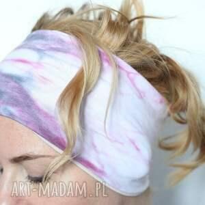 Ruda Klara ręcznie zrobione opaski opaska na włosy