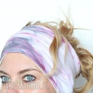 Ruda Klara opaski bawełna opaska na włosy ręcznie